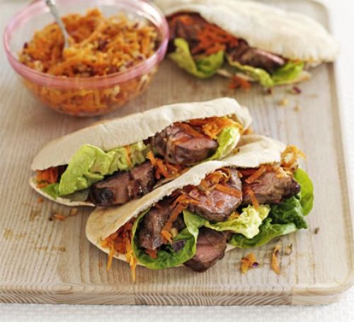 Summer Lamb Pockets