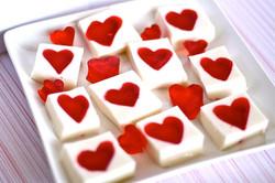 Jello Heart Squares