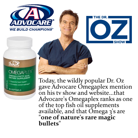 Dr. Oz Likes Our OmegaPlex