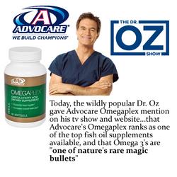 Dr. Oz Likes Our OmegaPlex