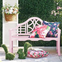 Pretty in Pink Porch Decor