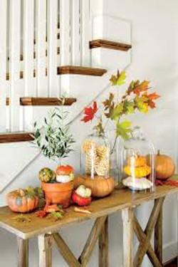 Pumpkin Bliss Side Table