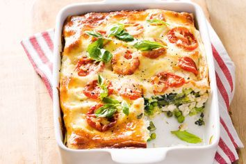Spring Vegetable Lasagna