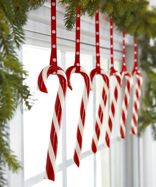 Candy Canes Hung with Care