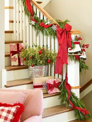Holiday Stairwell