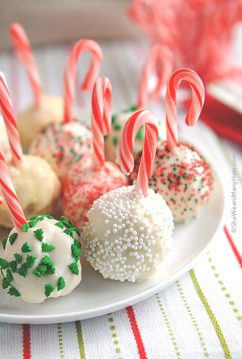 Rice Krispie Christmas Balls