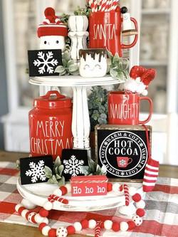 Christmas Coffee Station
