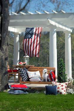 Patriotic Outdoor Space
