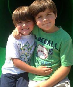 Grandsons Keaton & Liam