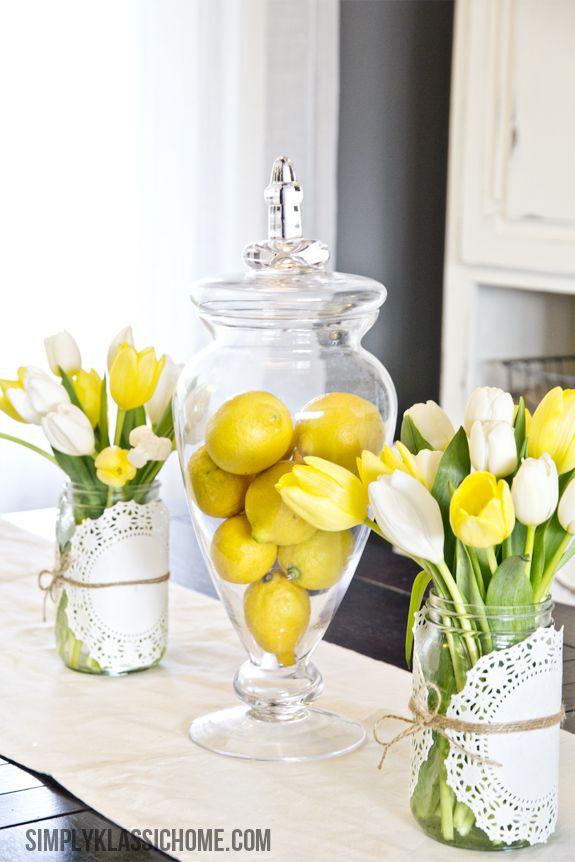 Lovely Lemons & Tulips