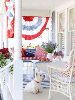Patriotic Pooch & Porch