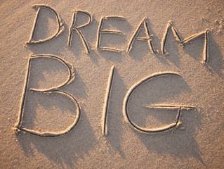 You Can't Dream Big When You Are Thinking Small.