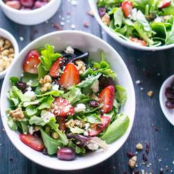 Strawberry Spring Salad