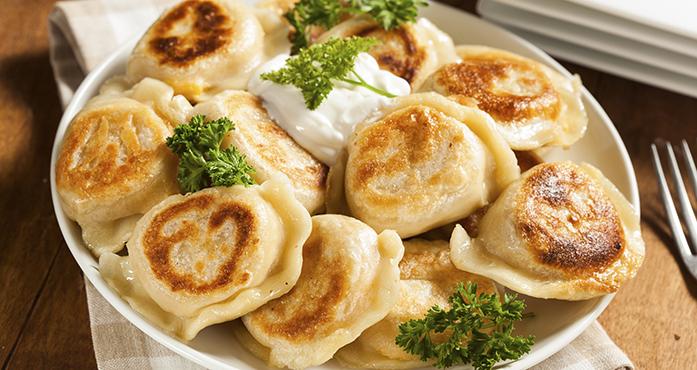 Mushroom Potato Pierogies