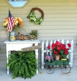Gorgeous Summer Porch