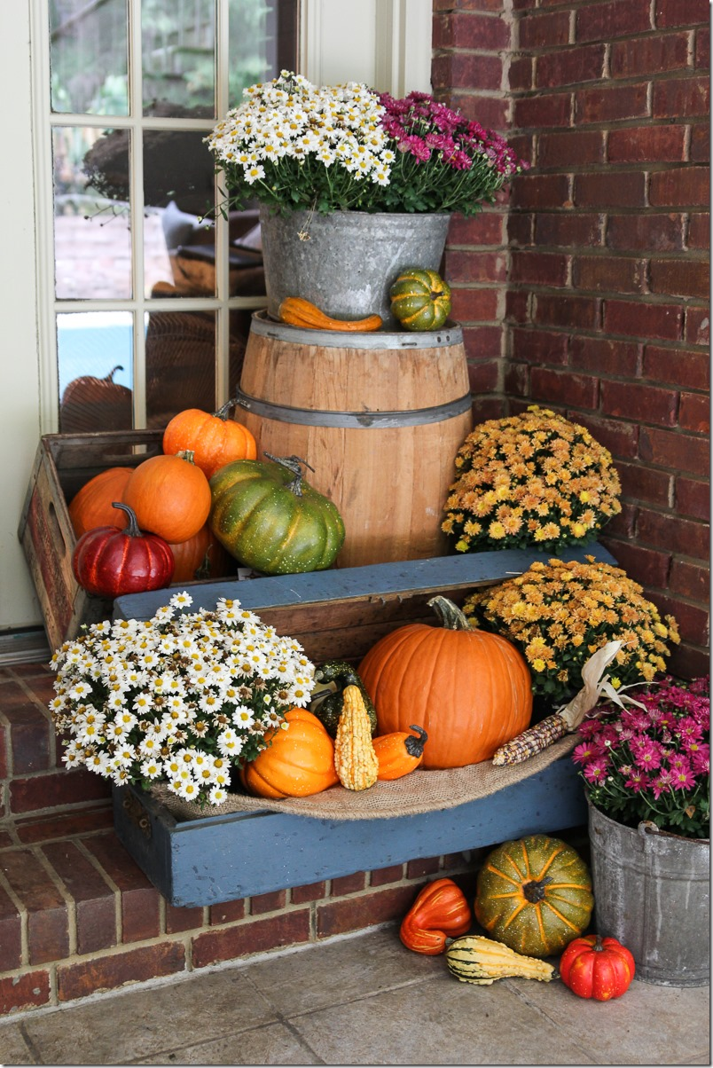 Festive Fall Porch Decor