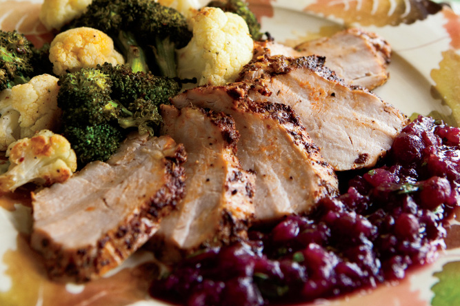Pork Tenderloin w/Cranberries