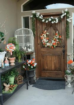 Springtime Entryway