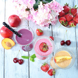 Spring Flavored Smoothies