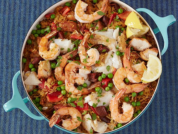 Bacon and Shrimp Paella