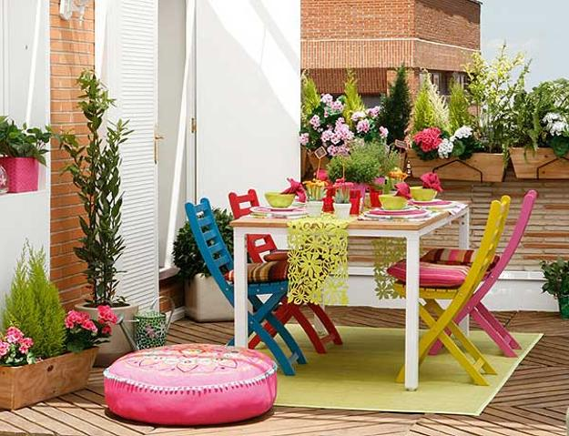 Colorful Party Table