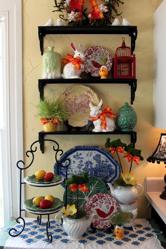 Vibrant Easter Baker's Rack