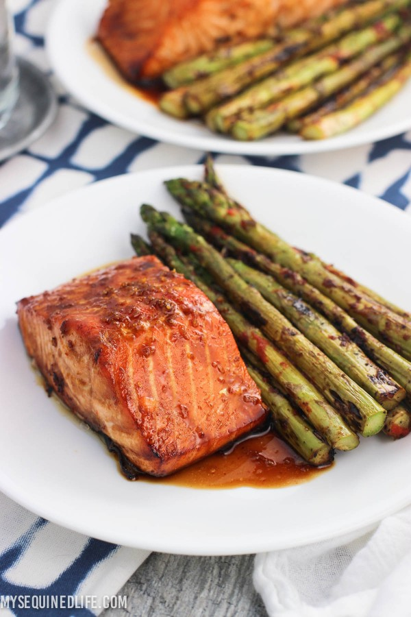 Sweet & Spicy Orange Salmon