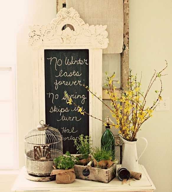 Victorian Chalkboard