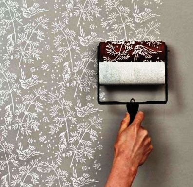 Fern Pattern Paint Roller