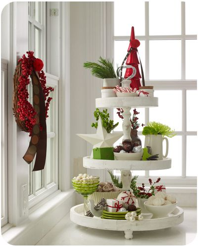 Festive Tiered Trays
