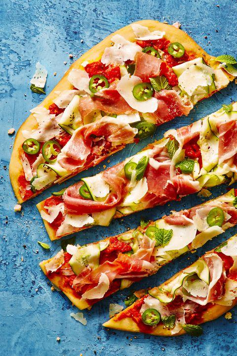 Prosciutto Grilled Pizza