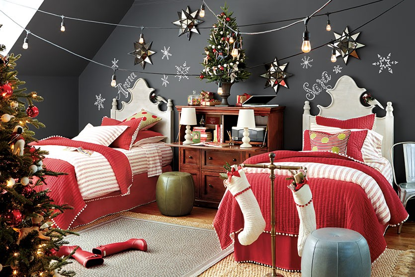 Magical Christmas Bedroom