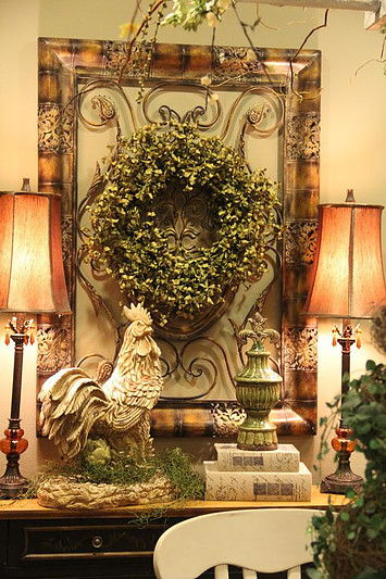 Glorious Tuscan Side Table Decor'