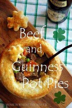 Beef & Guinness Pot Pie