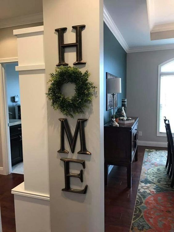 Wreath Within the Home
