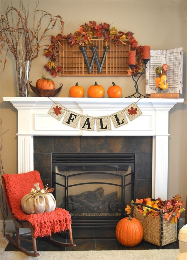 Lovely Autumn Mantle