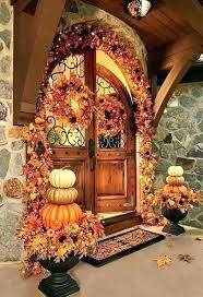 Rustic Fall Entryway