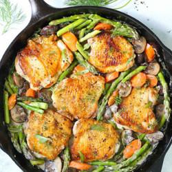 Skillet Chicken & Veggies