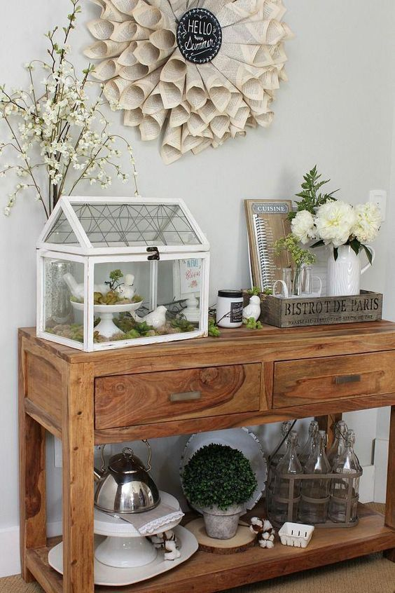 Stunning Side Table Decor