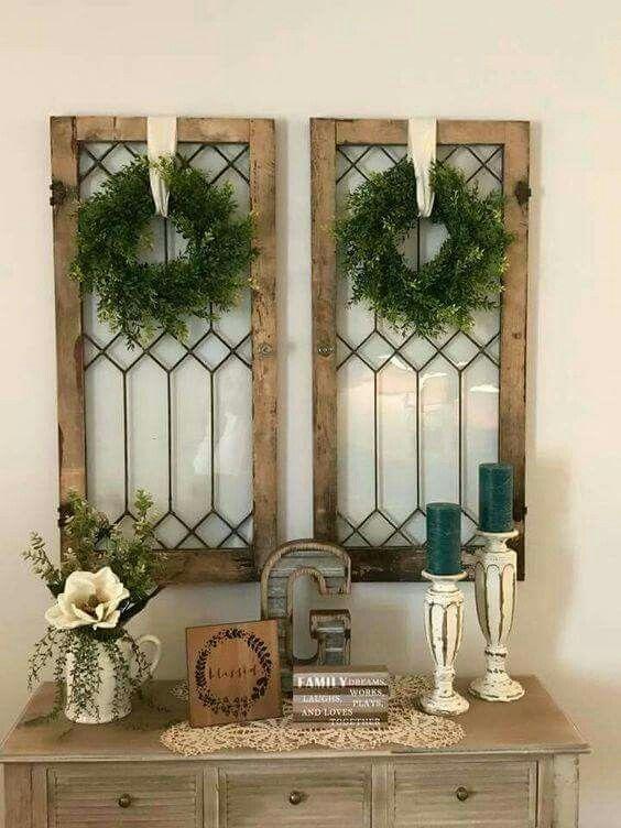 Windows and Wreaths
