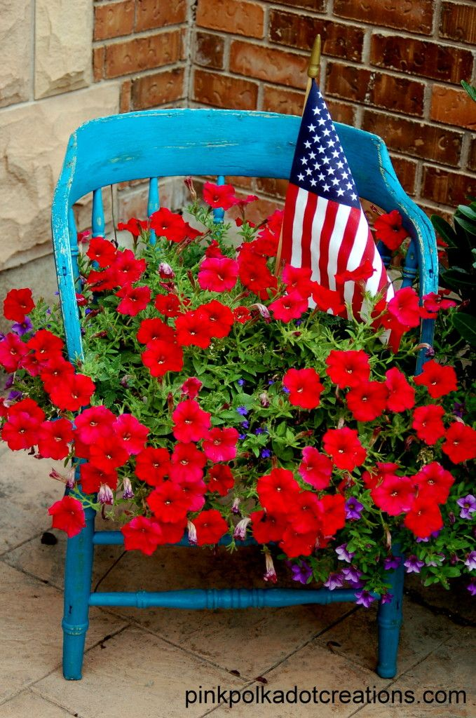 A Chair Full of Florals