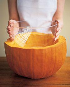 Festive Pumpkin Punchbowl
