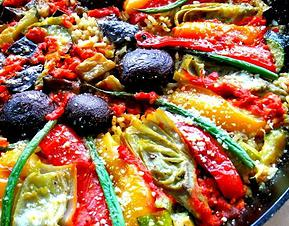 Italian Vegetable Paella