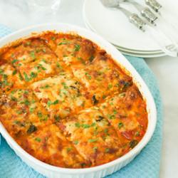 Spinach & Zucchini Lasagna