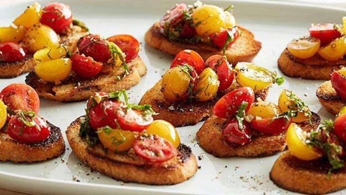 Christmas Bruschetta