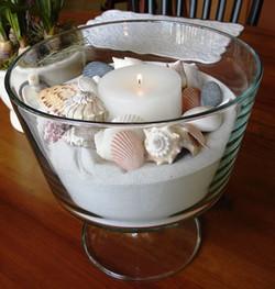 Seashells & Sand Centerpiece