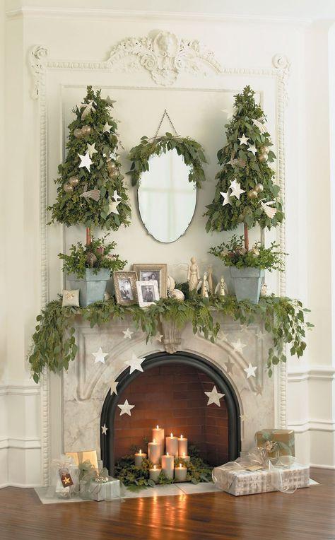 Christmas Tree Mantle