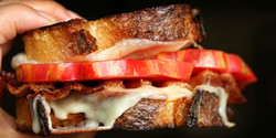 Grilled Chees w/Bacon & Tomato