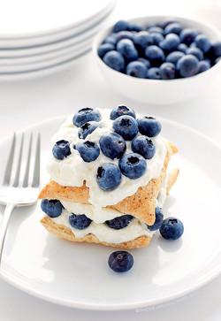 Blueberry-Lemon Napoleon