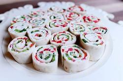 Tortilla Christmas Roll Ups